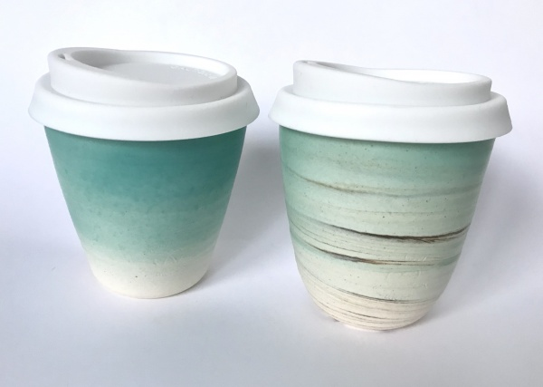 reusable ceramic cup small
