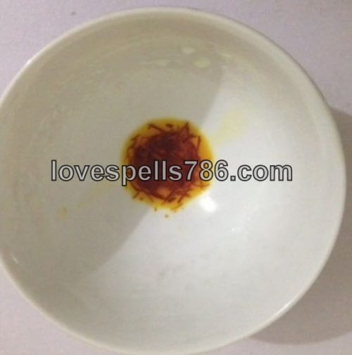 how to mix saffron for taweez