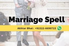 Marriage Spell