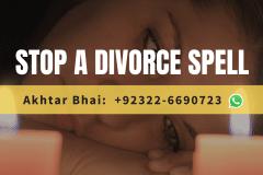 Stop a divorce spell