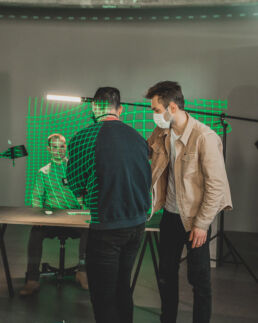 Apendo behind the scenes LRSN studio scene