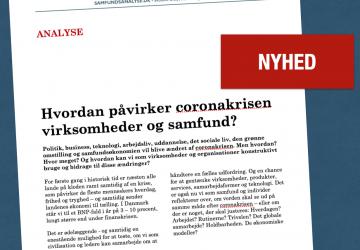 Samfundsanalyse.dk om coronakrisen