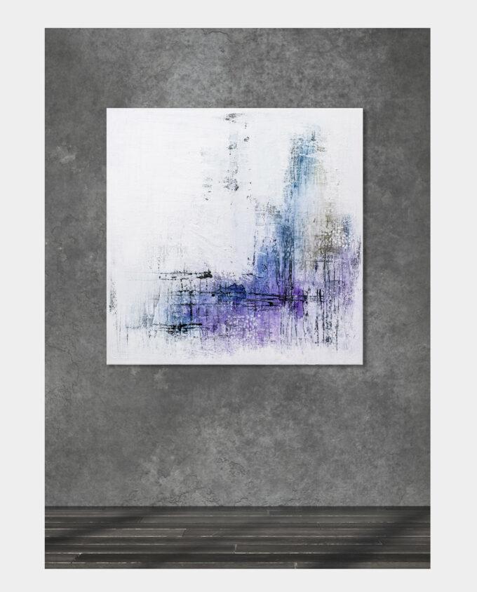 Mildness, 70×70 cm
