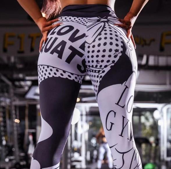 i love squats black back