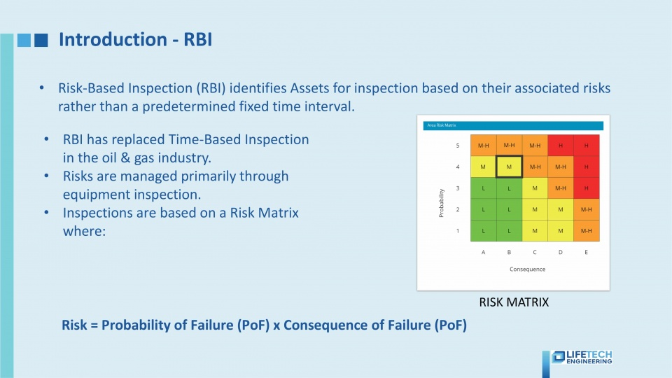 05 Risk Based Inspection for asset integrity management