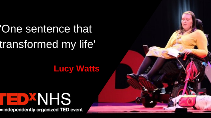 "My TEDxNHS Talk Is Live! ""One Sentence That Transformed My Life"""