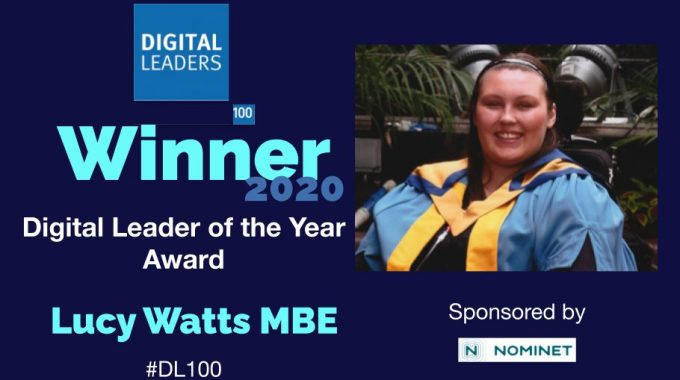 Lucy Named 2020 Digital Leader Of The Year