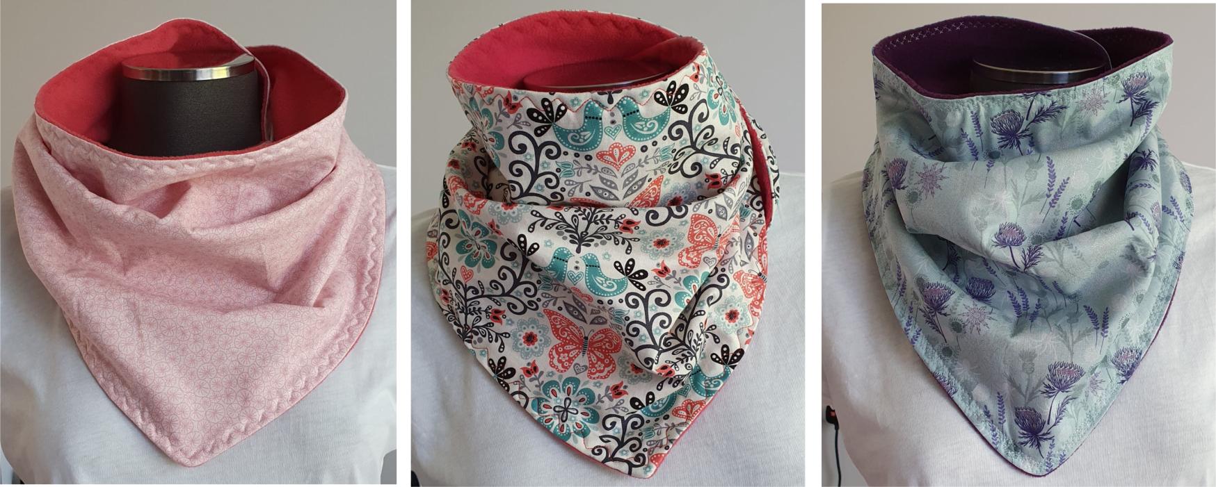 Ways to wear your scarf 1