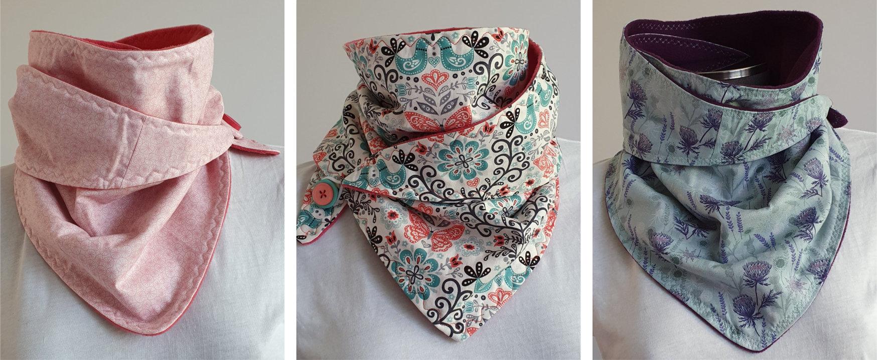 Ways to wear your scarf 2