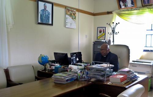 School Principal @his Office