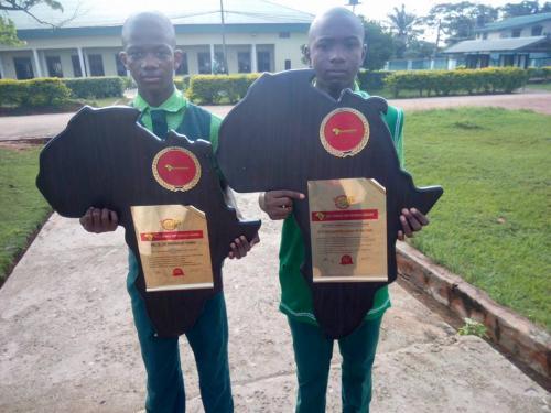 School prestigious awards