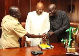 Former Edo Sate Governor celebrating with us