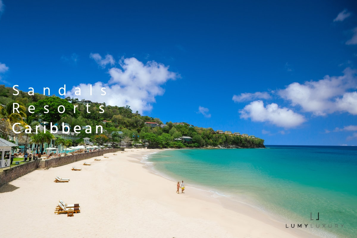 Sandals Resorts, a luxury romantic vacation