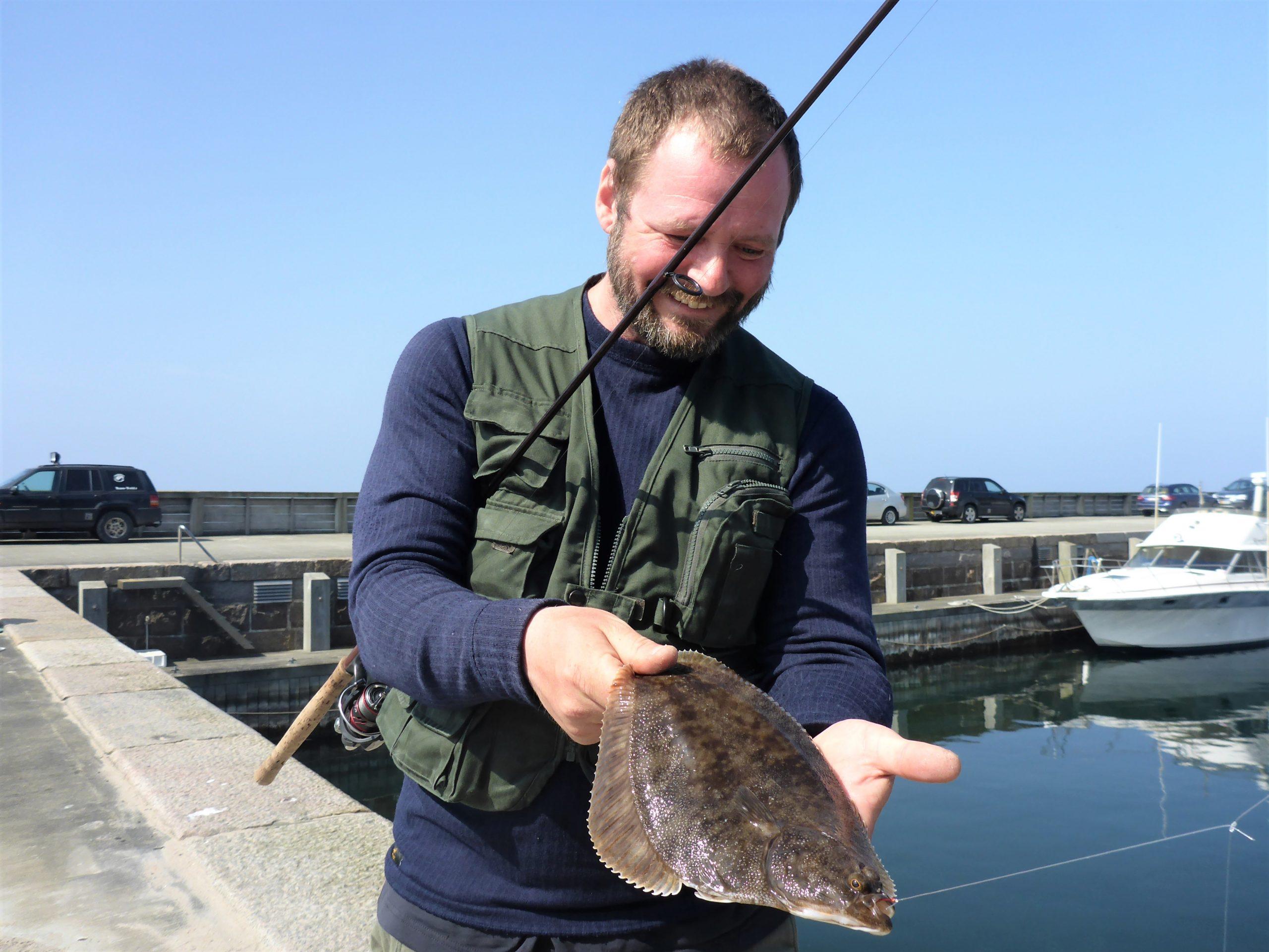 Fladfisk fra Hammerhavn.