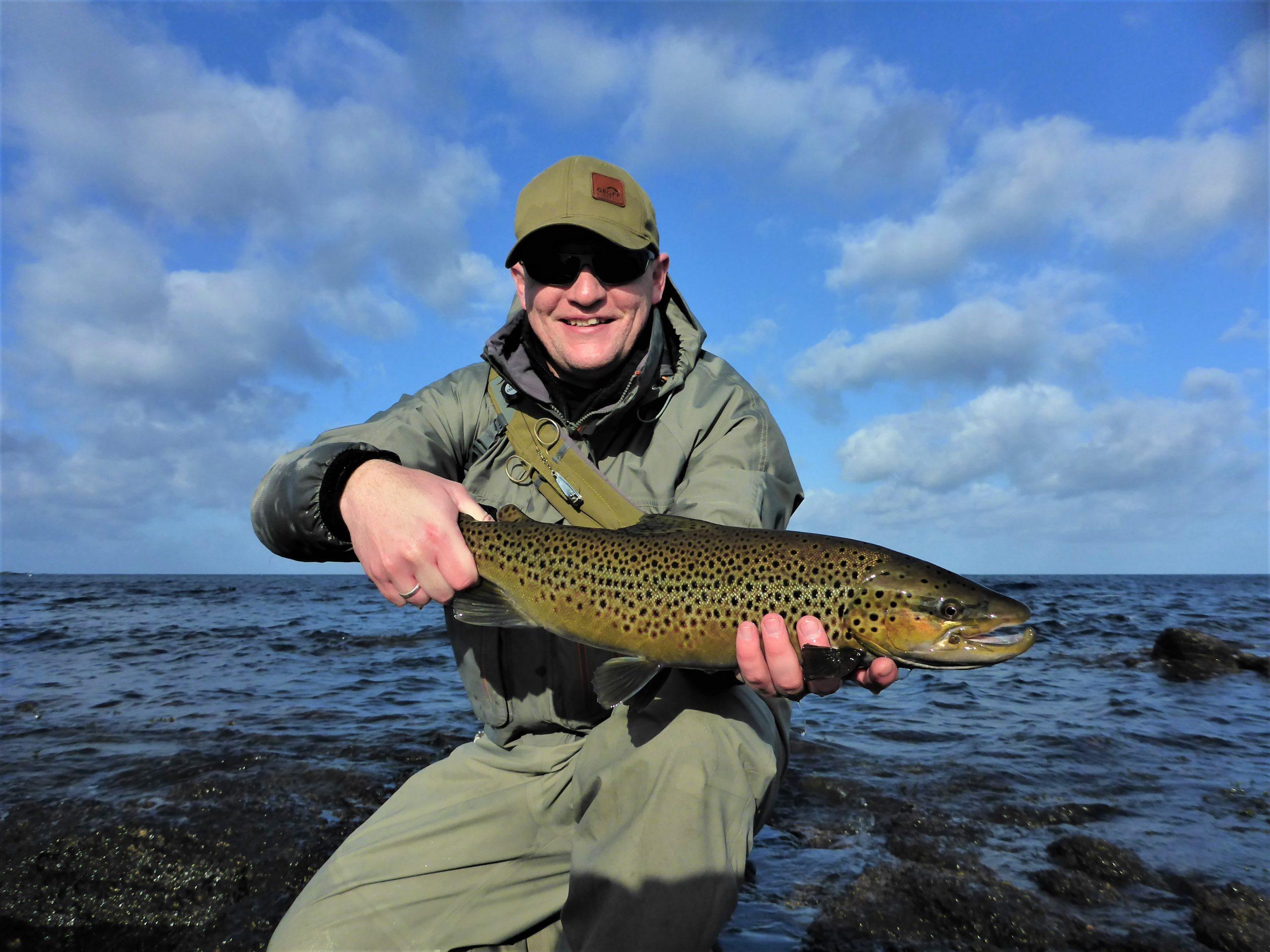 En flot hanfisk fra Svaneke og Fyret.