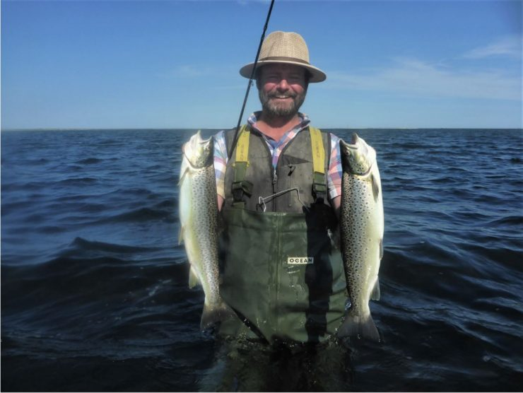 Lystfiskeri i Randers Fjord er spændende.