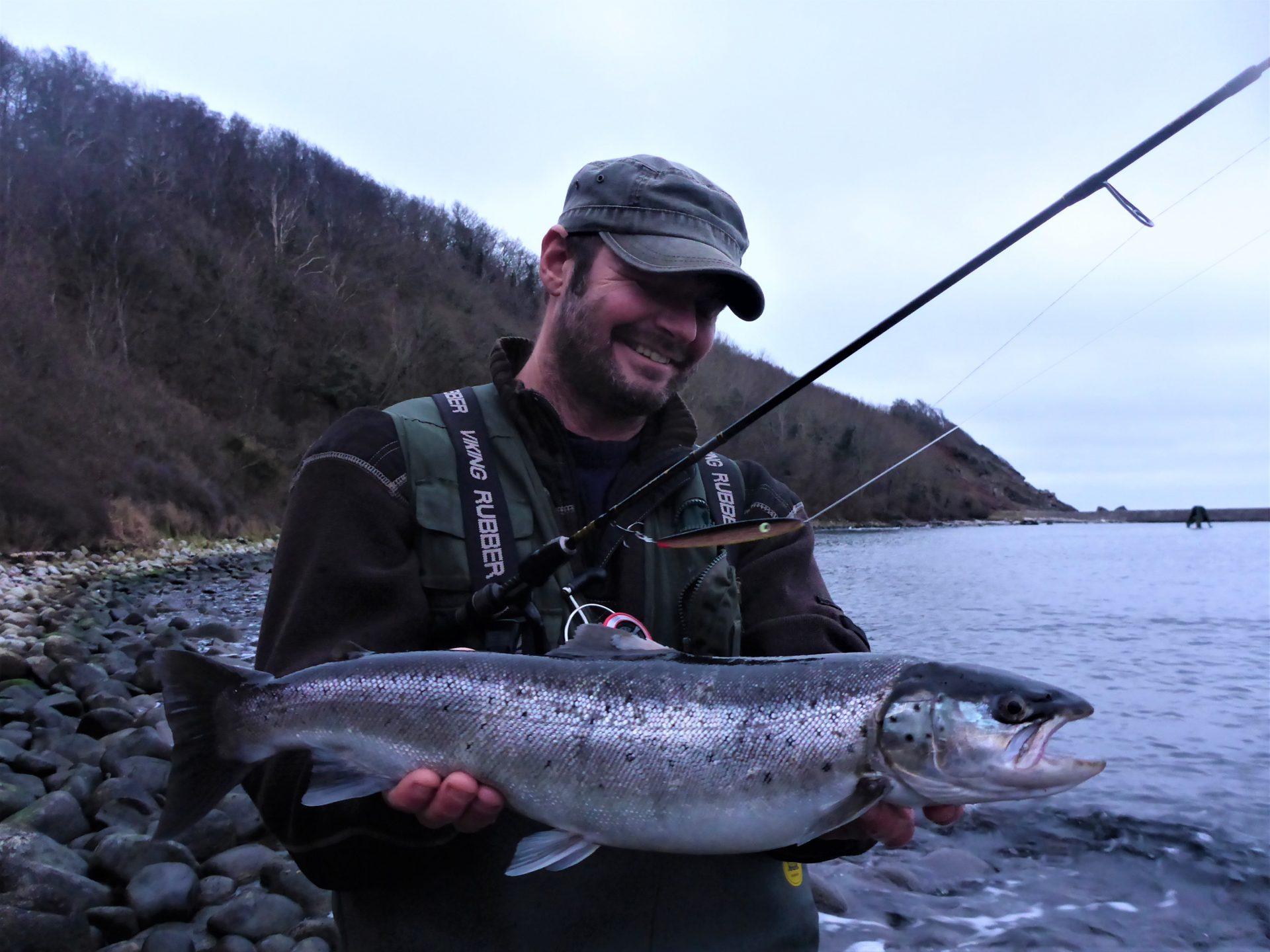Kystfiskeri på Nordbornholm.