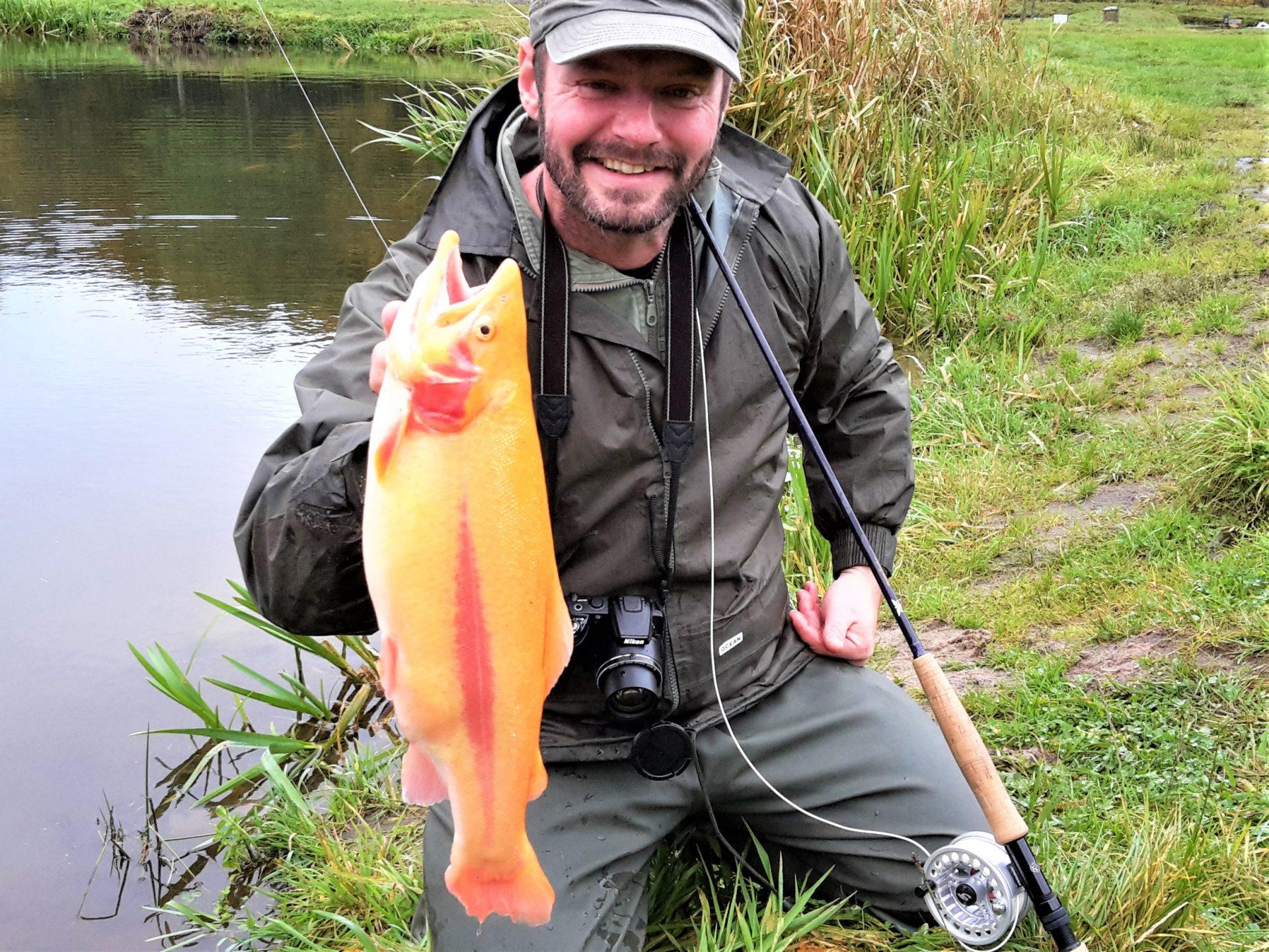 Fluefiskeri i put and takesøerne