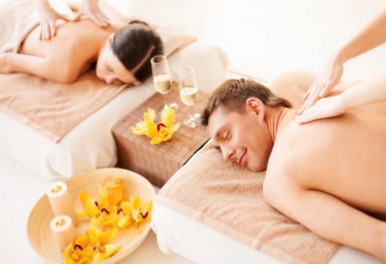 Parmassage Wellnessmassage for to.