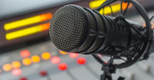 Podcast productie