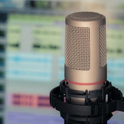 Podcast opnemen vanop afstand