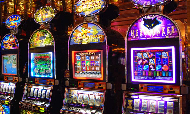 Machines à sous des casinos