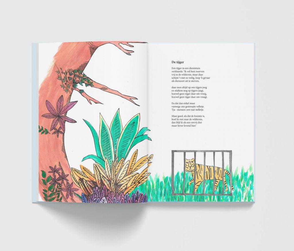 Kinderboek layou