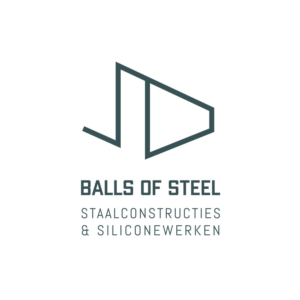 Logo Balls Of Steel groen op wit