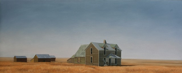 American Dream, Oil On Canvas, 75 X 200 cm