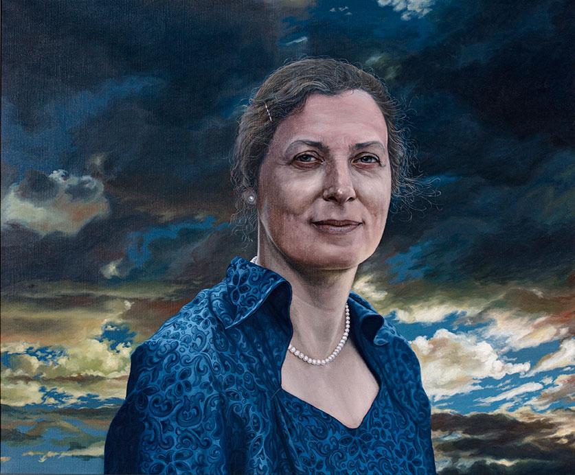 Karen Margrethe Kristensen, Oil On Canvas, 80 x 100 cm