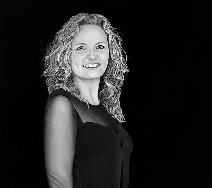 Kristine Struve, Oil On Canvas, 70 x 80 cm
