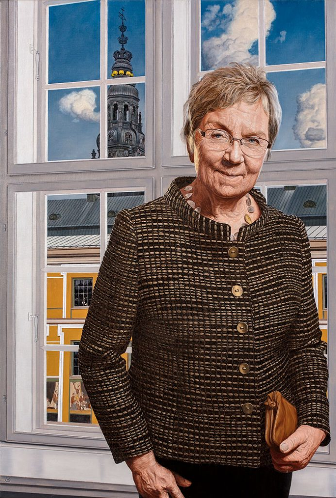 Marianne Jelved, Oil On Canvas, 120 x 90 cm