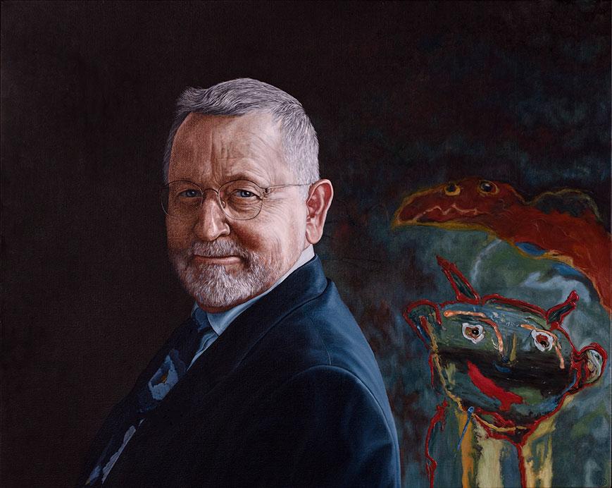 Ole Plougmann, Oil On Canvas, 80 x 100 cm