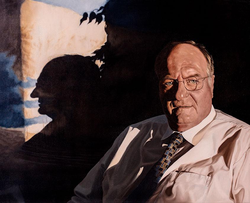 Poul Krogh, Oil On Canvas, 80 x 100 cm