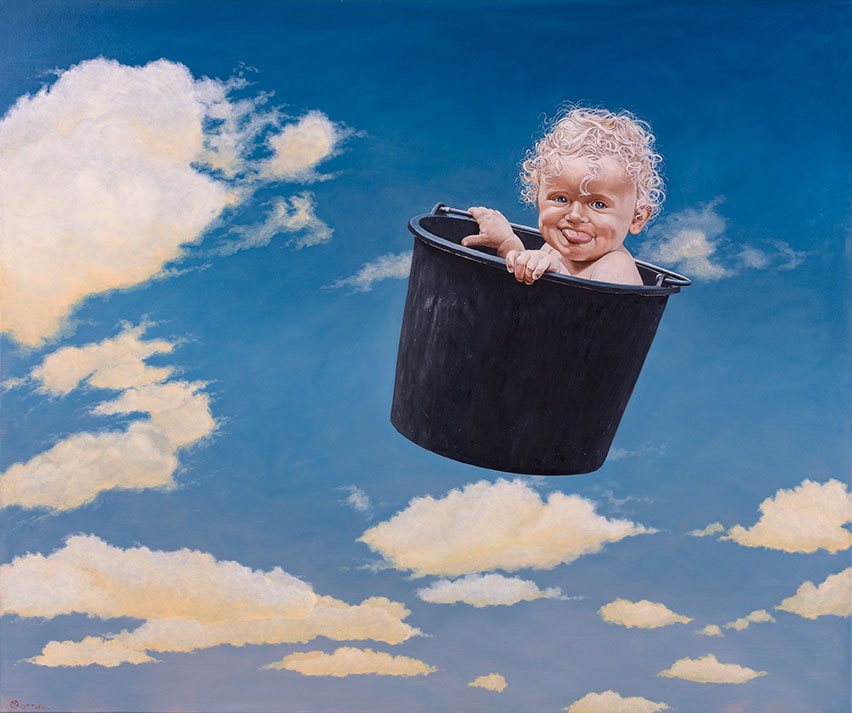 Sofia Lauerberg Stoltze, Oil On Canvas, 125 x 150 cm