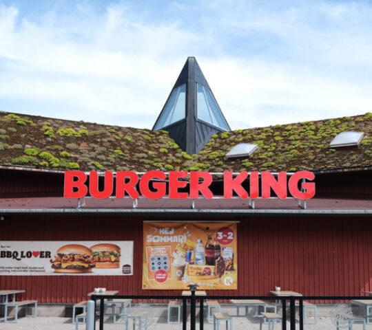 Burger King vid Circle K Lindvallen