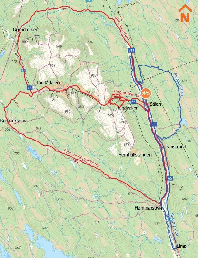 Cykla i Sälen