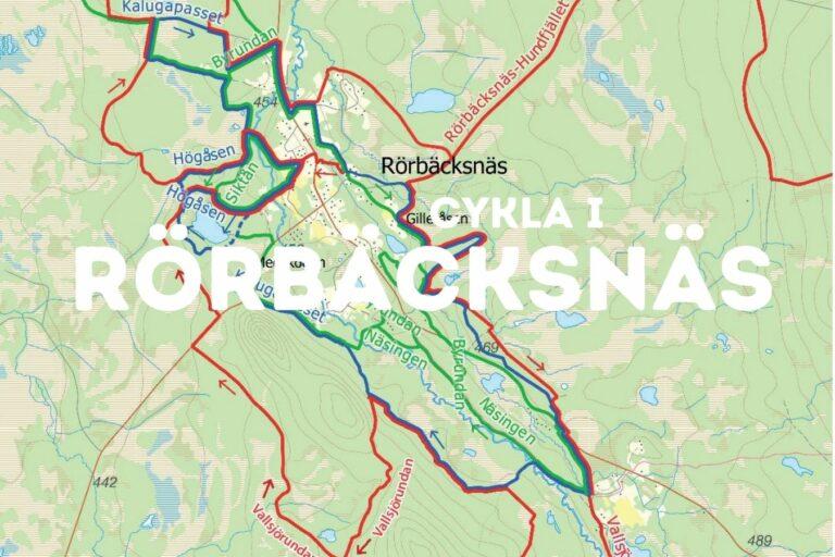 Cykla i Rörbäcksnäs - Cykelleder