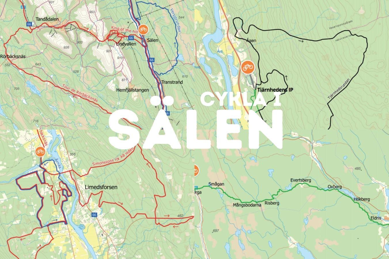 Cykla i Sälen - Cykelleder