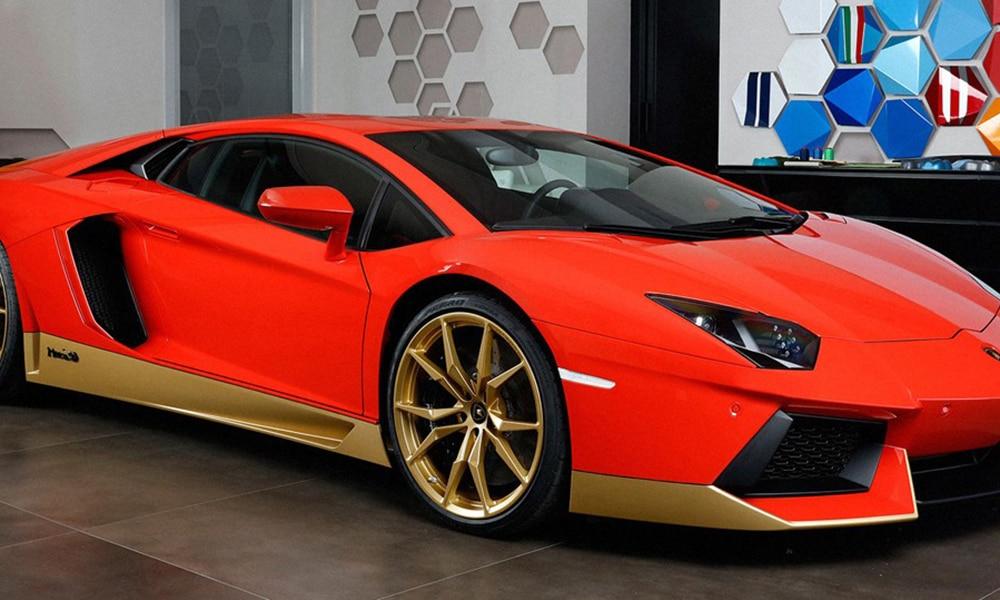 Magazine Chic - Lamborghini Aventador Miura Homage