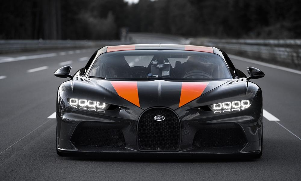 Magazine Chic - La Bugatti qui a dépassé les 490 km/h
