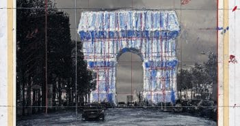 [MC] Magazine Chic - Arc de Trimphe by Christo