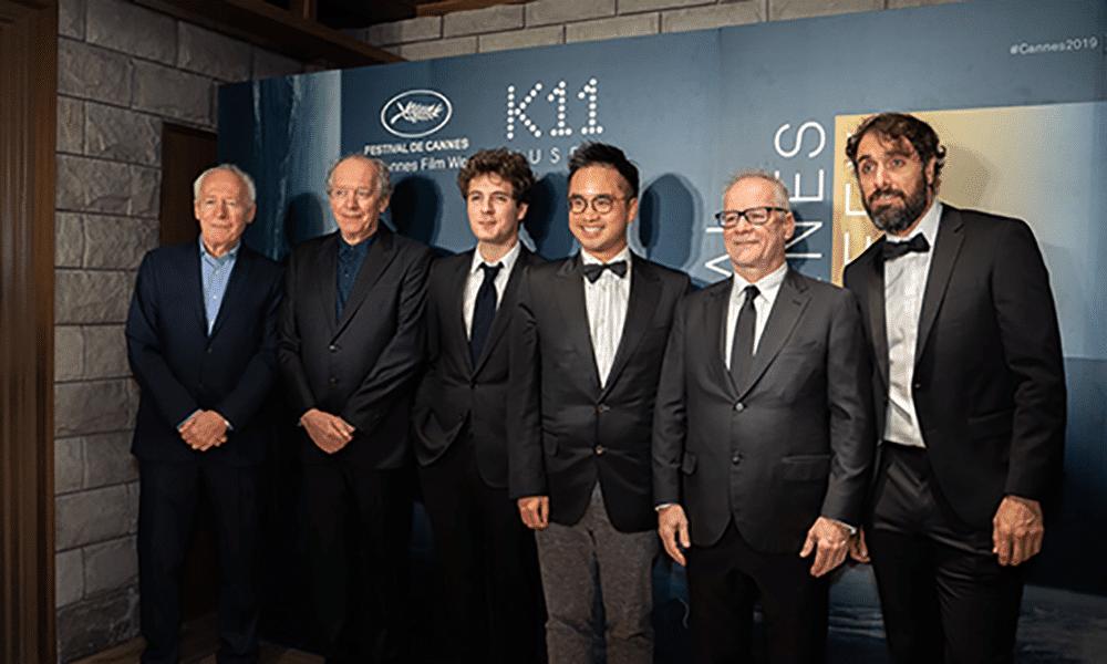 Jean Pierre & Luc Dardenne, Vincent Lacoste, Adrian Cheng, Thierry Frémaux, Michael Angelo Covino