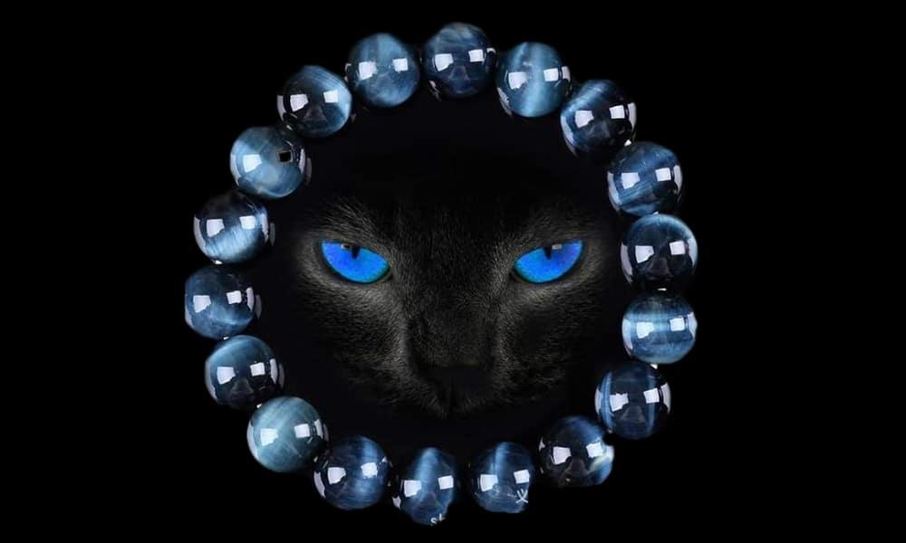 [MC] Magazine Chic - Oeil du tigre bleu