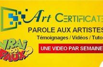[MC] Magazine Chic - Art Certificate