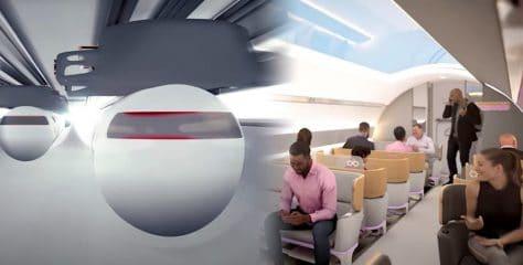Transports du futur : Voici à quoi pourrait ressembler un voyage avec Hyperloop