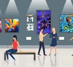 Zoom sur trois artistes et trois univers : dessin, peinture, photo…