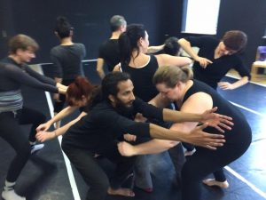 Teatret OM Workshop. Foto: Antonella Diana.