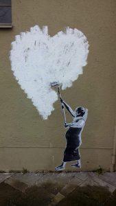 Grafitti at Das KloHäuschen