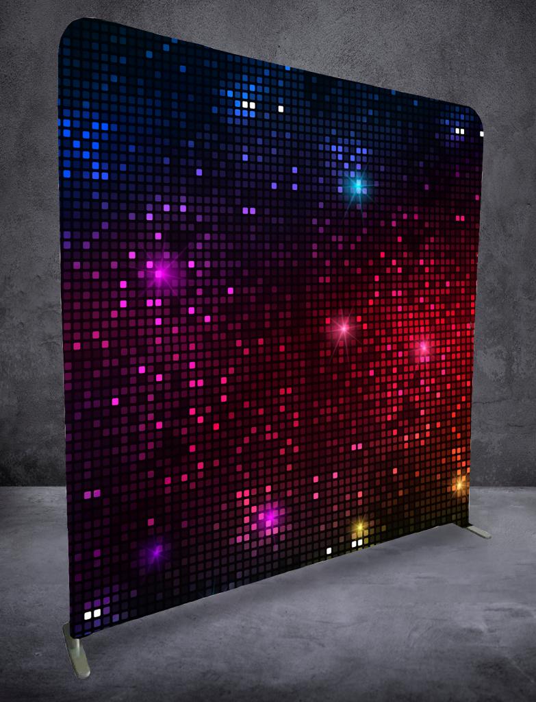 Glittriga kuber bakgrund